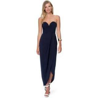 Shona Joy Draped Dress Sz 8