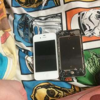Lot  of 2 iPhone 4S (parts only)