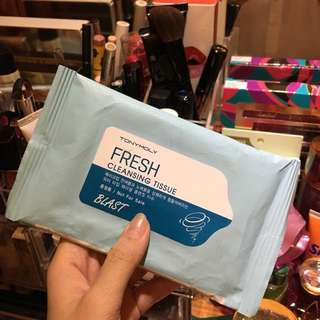 Tony Moly Makeup Remover Wipes