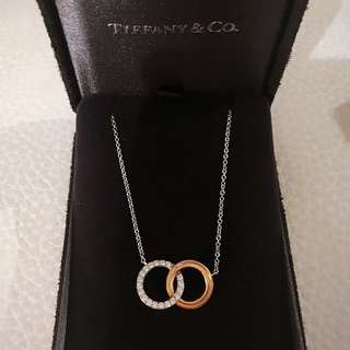 Authentic Tiffany & Co. Necklace with Diamond