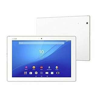 BNIB Sony Xperia Z4 Tablet LTE White