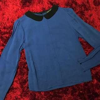 Zara Collar Top