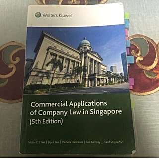 Singapore Company Law (5th Edition)