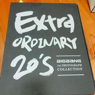 Big Bang Extra Ordinary 相簿寫真集