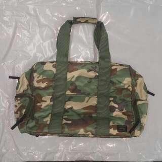 (大大減價)head Porter 迷彩絹面2用袋