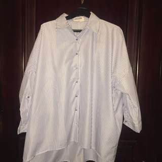 This Is April Oversized Blouse
