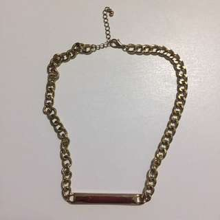 Forever 21 Necklace Gold Chain