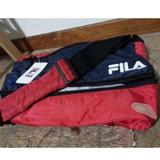 BRAND NEW FILA gym bag with shoe compartment