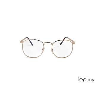 PC Glasses / Spectacles – Novel in Gold - foptics