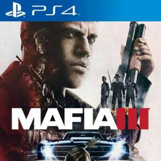 Mafia 3 Ps4 Game