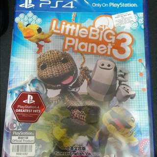 Little big planet 3 - PS4 games (RESERVED)