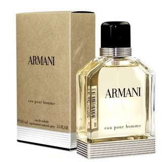 100ml Armani Eau pour Homme By Giorgio Armani edt men perfume 100% authentic !