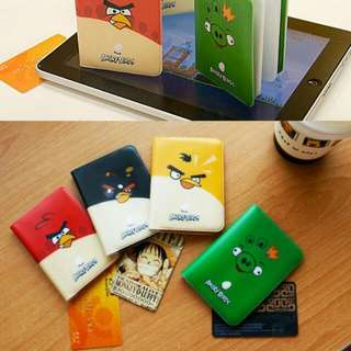 Angry Bird Plastic Bank Credit Card Bag ,Lovely Fashion ID Card Holder Bags