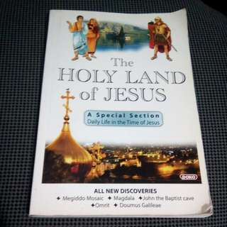 The Holy Land of Jesus Book FREE SHIPPING!