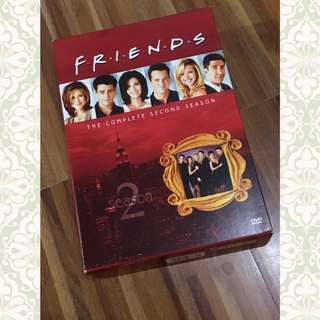 FRIENDS Season 2 Box Set DVD (original)