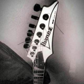 Gitar Ibanez rg350dxz ori Jepang