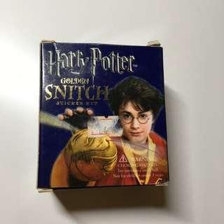 Harry Potter - Golden Snitch and Sticker Kit