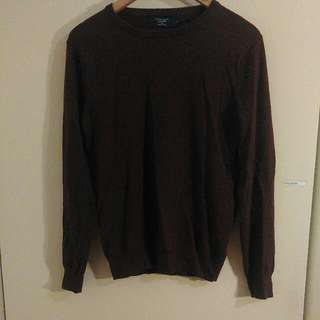 J Crew Maroon Sweater With Cashmere