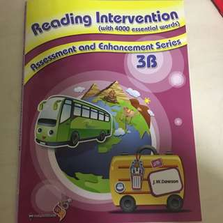全新Reading Intervention 3B