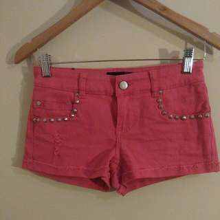Material World By Madonna Denim Shorts