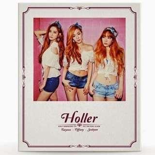 Girls Generation SNSD - TaeTiSeo (TTS) Holler Album