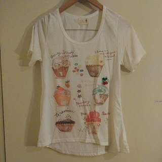 REDUCED Korean Cupcake T Shirt