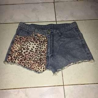 Hi Waist Leopard