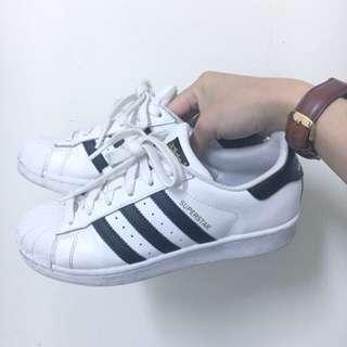 Adidas Original Superstar 金標