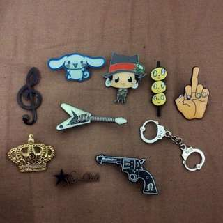 Assorted Pin Badge