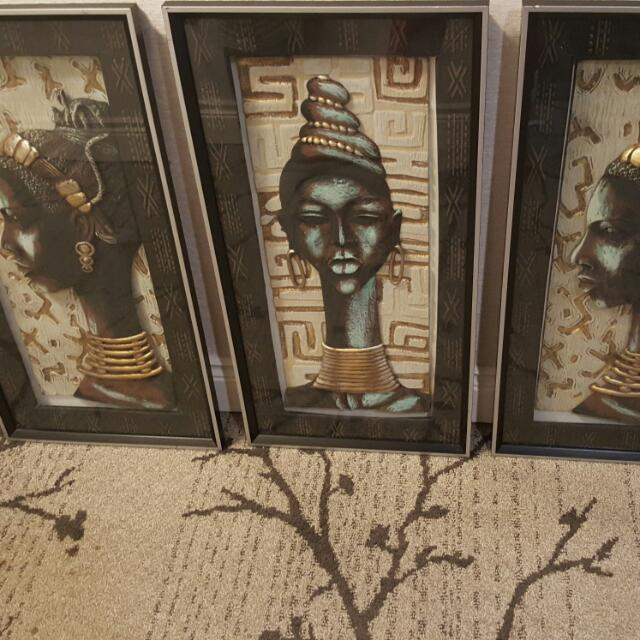 3 Brand New Artist Picture Frames