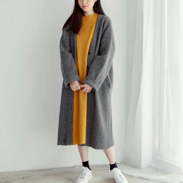9.999成新 羊毛針織毛線外套
