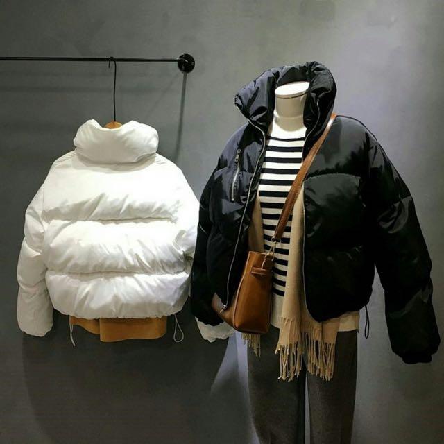 韓版鋪棉外套-限