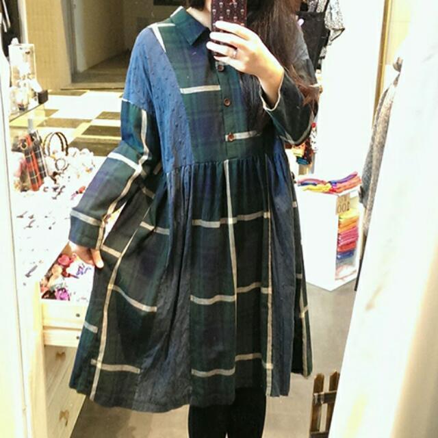日系森林洋裝