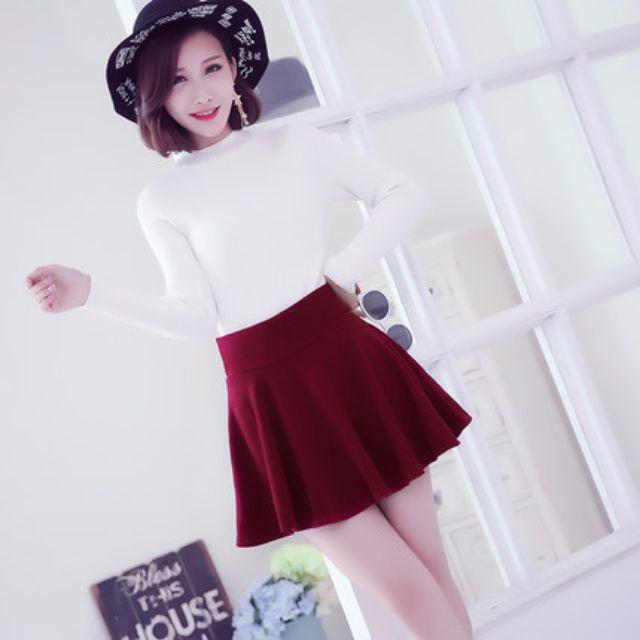 女韓版半身裙秋冬短裙高腰百褶裙黑色大碼蓬蓬裙A字裙子傘裙
