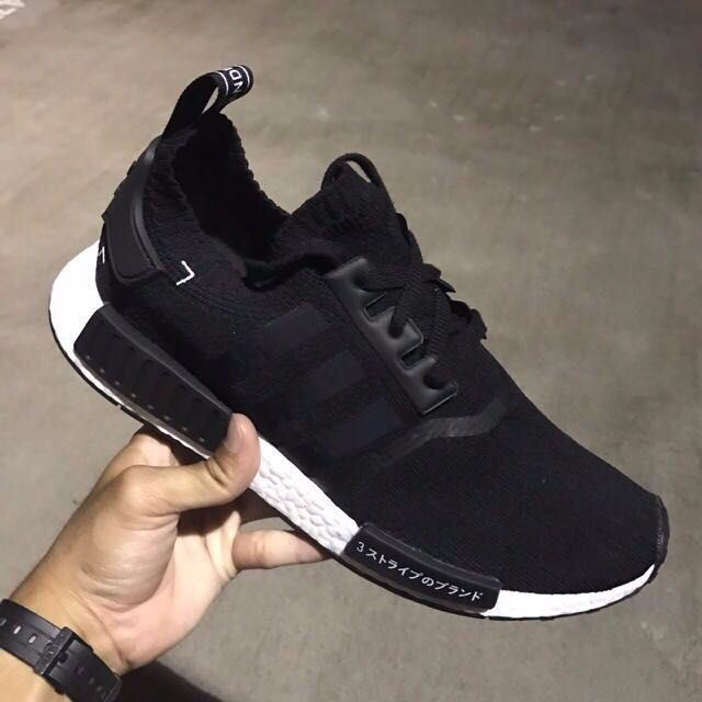 huge discount 2bfdc 69686 Pk Fashion On Nmd Adidas Carousell Footwear R1 Men s Black Japan qxZww7OUa