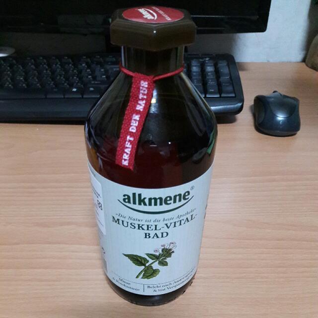 Alkmene 德國製造 沐浴乳 泡澡露 精油