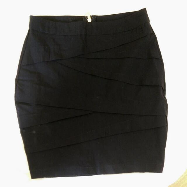 Ally Fashion Mini Pencil Skirt