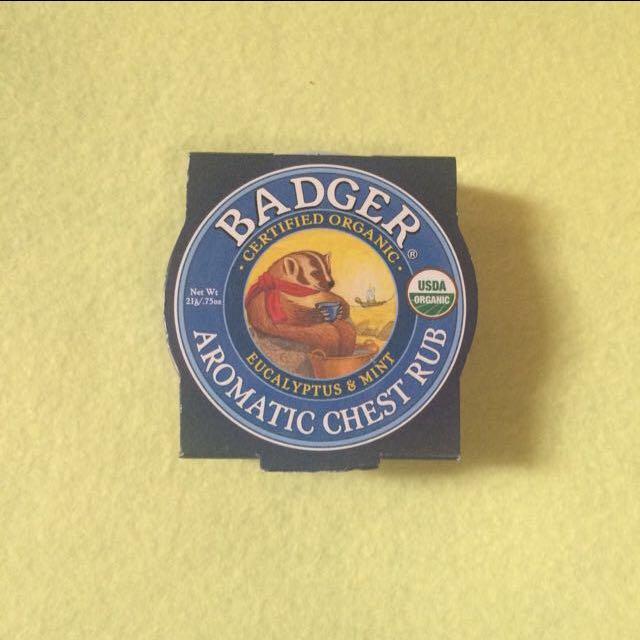 Aromatic Chest Rub - Badger Balms