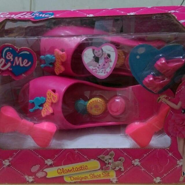 barbie系列 眼鏡組 美鞋組