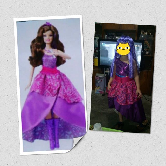 Barbie Princess And The Popstar Costume