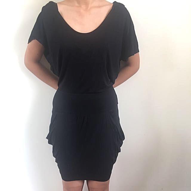 Bardot Hooded Dress