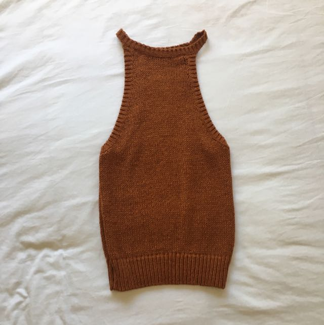 Bardot Knitted Top