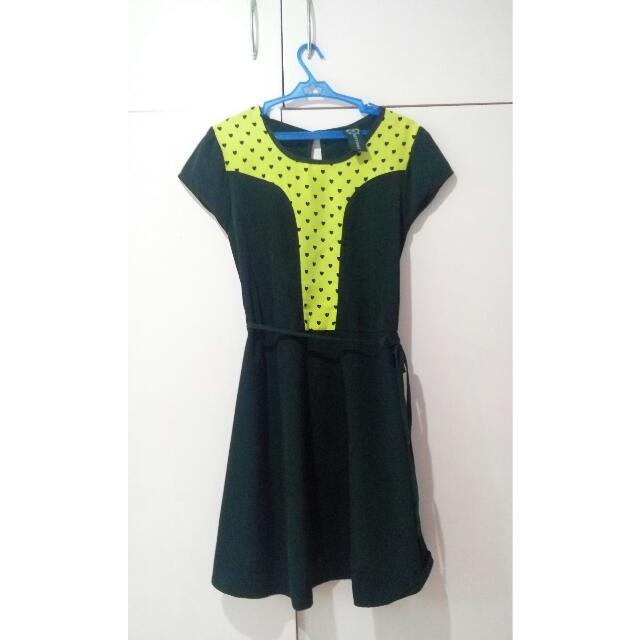 Black Hearty Dress