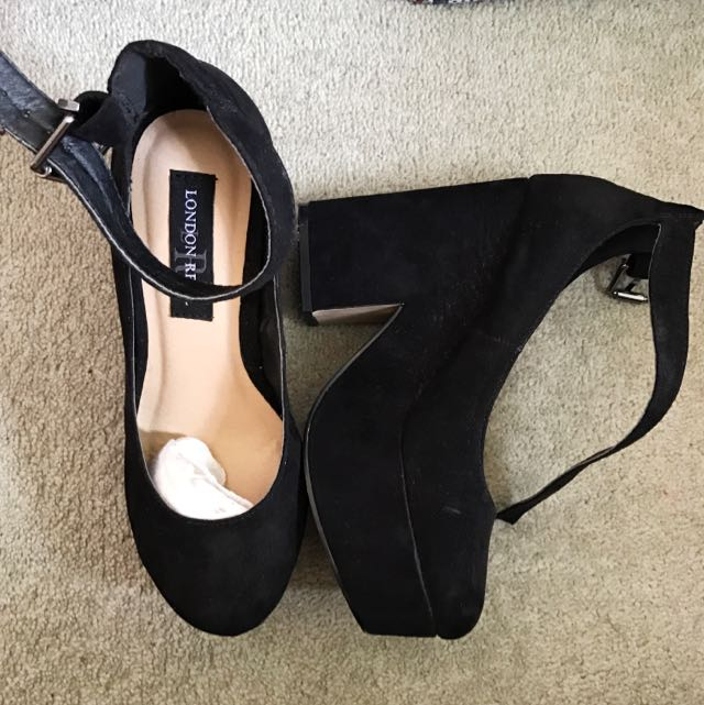 Black Size 7 Heels