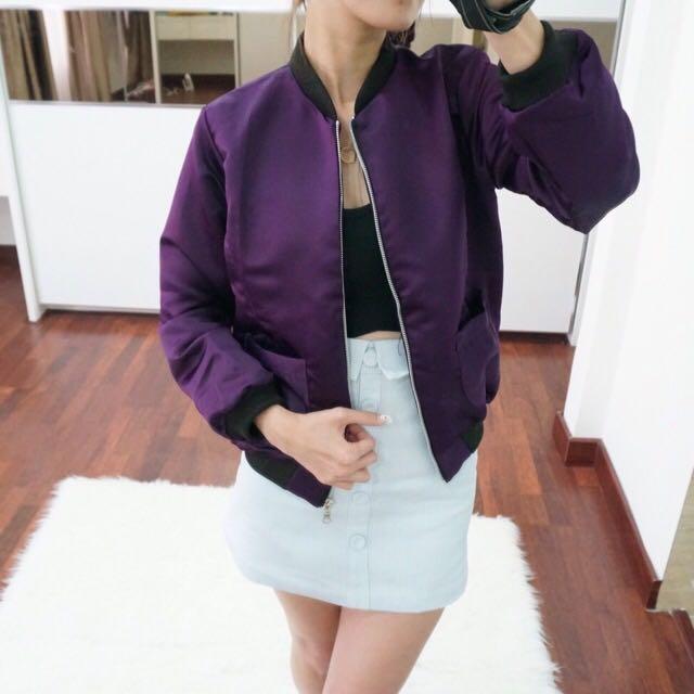 Bomber Purple