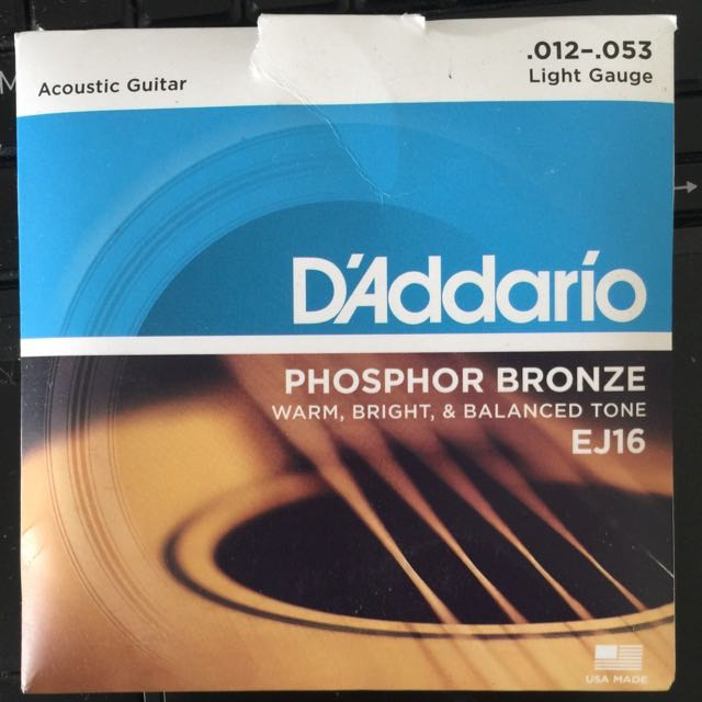 Brand New D'addario Guitar Strings