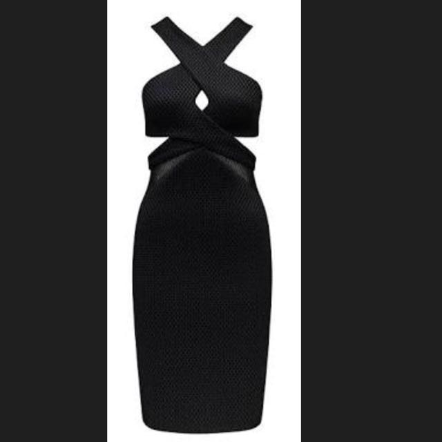 Kendall + Kylie by Forever New Mesh Splice Dress