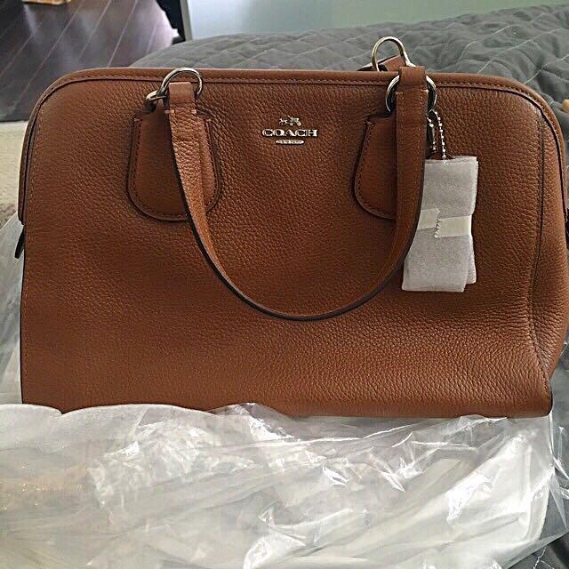 Brown Coach Nolita Bag