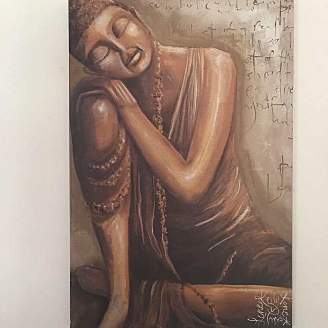 Buddha Canvas Painting