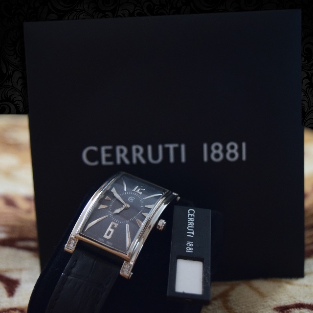 swiss and watches silver ladies s genova his steel is mens cerruti stainless new hers loading itm image
